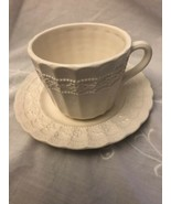 """Lefton Cup And Saucer """"irish Lace"""" Pattern - $9.77"""