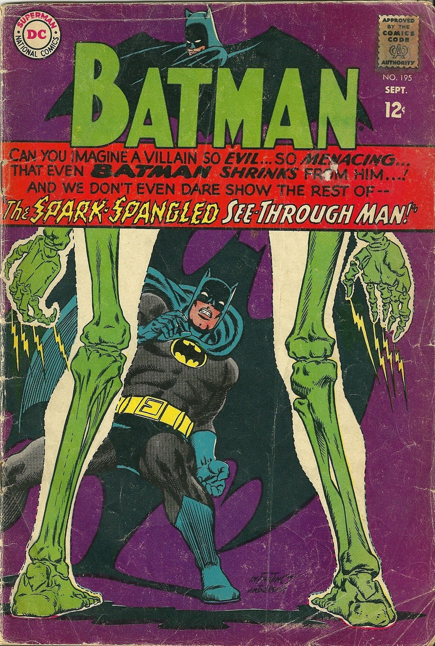 DC Comics Batman #195 BATMAN 1967 / SEPTEMBER