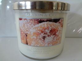 Bath & Body Works Slatkin & Co. CINNAMON SUGARED DONUT Scented Candle 14... - €67,99 EUR