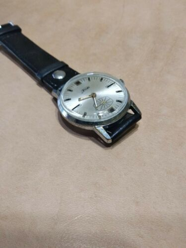 Vintage ZIM  mens wrist watch  vintage 15 Jewels 1960s Original USSR  image 4