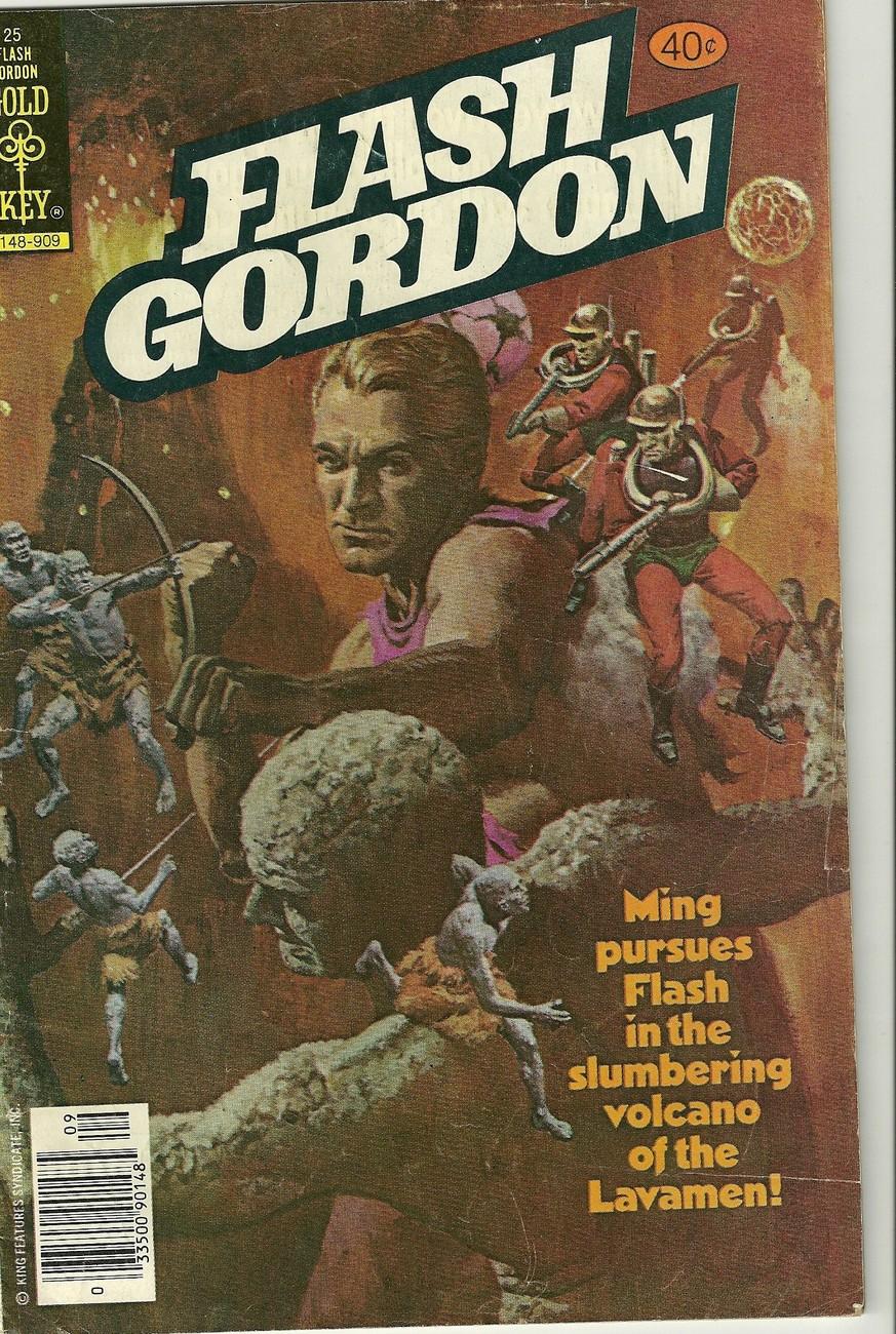 FLASH GORDON / GOLD KEY #25 SEPTEMBER 1979 COMIC BOOK !