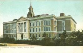 Simmons College, Fenway, Boston, Mass early 1900s unused Postcard  - $3.99