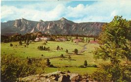 The Stanley at Estes Park, Colorado 1957 used chrome Postcard  - $3.99