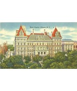 State Capitol, Albany, New York 1930s-1940s unused Postcard  - $4.50