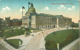 State House, Boston Mass early 1900s unused Postcard  - $5.00