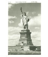 Statue of Liberty, New York unused Real Photo Postcard  - $7.99