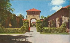 Towers, Stanford University, Stanford, California 1950s unused Postcard  - $4.99