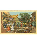 Typical of Early Los Angeles, Olvera Street, Los Angeles, California pos... - $4.99