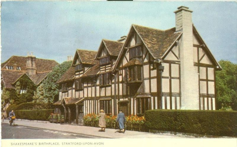 Stratford Upon Avon United Kingdom  City pictures : United Kingdom Shakespeare's Birthplace, Stratford Upon Avon 1962 used ...