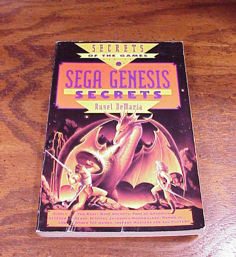Primary image for Secrets of the Games Sega Genesis Book, by Rusel DeMaria