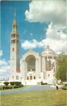 Washington DC National Shrine of the Immaculate Conception unused postcard - $5.35