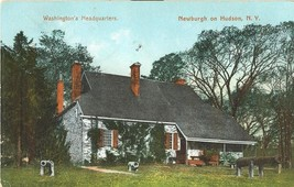 Washington's Headquarters, Newburgh on Hudson, New York 1909 used Postcard  - $5.99