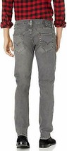 Levi's Strauss 511 Men's Destroyed Distressed Slim Fit Stretch Jeans Lionsmane image 2
