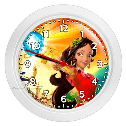 Disney Princess Elena Of Avalor Skylar Wall Clock Kids