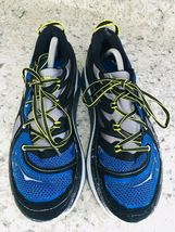 HOKA One One Constant Blue Yellow & Black running Shoes Men's SIZE 10 image 5