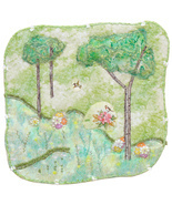 Early Spring: Quilted Art Wall Hanging - £301.59 GBP
