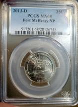 ~☆POP 27/1☆~ MS-68 2013-D Fort McHenry Washington Quarter PCGS  - $233.74