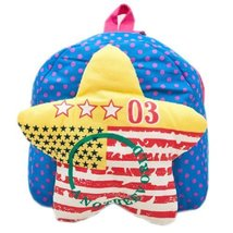 BLUE Star Infant Lovely Knapsack Cute Baby Bag Toddler Backpack 1-4Y