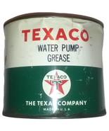 1950's Texaco Water Pump Grease 5lb Can - $17.95