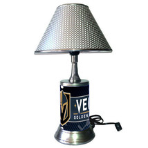 Vegas Golden Knights desk lamp with chrome finish shade - $39.99