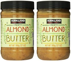 Kirkland Signature - Creamy Almond Butter, 27 Oz - 2 Jars - $32.66