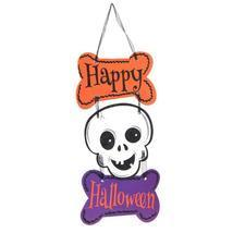 (02)Halloween Hanging Tag Paper Door Hanging Ornaments Pumpkin Halloween... - £12.45 GBP
