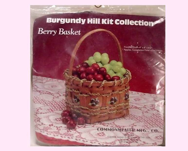 Willow Basket Weaving Dvd : Wicker berry basket craft kit burgundy hill collection