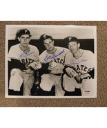 1959 PITTSBURGH PIRATES RON KLINE BOB FRIEND ELROY FACE SIGNED AUTO 8X10... - $119.99