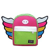 Korean Fashion Infant Knapsack Toddle Backpack Kindergarten School Bag Green