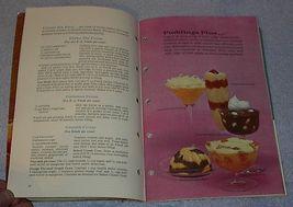 Vintage Recipe Cookbook Sweet Moment Desserts image 2