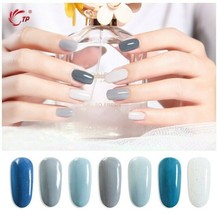28g 1oz Gradient Blue Nail Dipping Powder Dust Long Lasting - $15.56