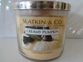Bath & Body Works Slatkin & Co. CREAMY PUMPKIN Scented Candle 14.5 oz / ... - €104,62 EUR