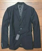 Armani Exchange A|X $220 Men's Black Tonal Line Stretch Blazer Sport Coat 38 - $79.19