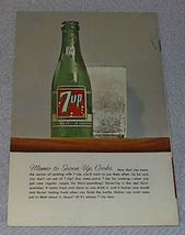 Vintage 7UP Goes to a Party Recipe Cookbook 1961 image 2