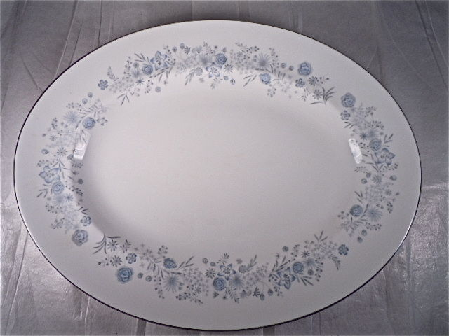 Wedgwood Belle Fleur Oval Serving Platter