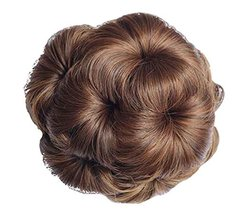 Fake Hair Bun with Hair Clip, Easy to Wear [Light Brown] #01 - $18.98