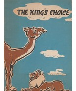 The King's Choice 1961 K. Shivkumar Vintage Paperback Reboti Bhushan - $12.86