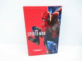 Hot Toys Video Game Masterpiece 1/6 Scale Figure Spider Man Advanced Sui... - $334.62