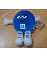 "RARE 1998 M&M Swarmees Belle Blue 5"" Plush - $5.99"