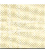 White 18ct Anne Cloth Poly Afghan 45x57 100% po... - $49.50
