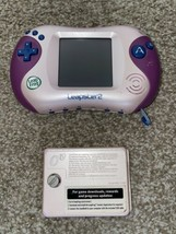 *Broken* Read For Parts only Leapfrog Leapster 2 Pink  Powers Up Can't Use Pen - $33.39