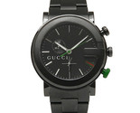 Gucci G-Chrono YA101331 Chronograph Black PVD Stainless Steel Gents Watch - $899.99