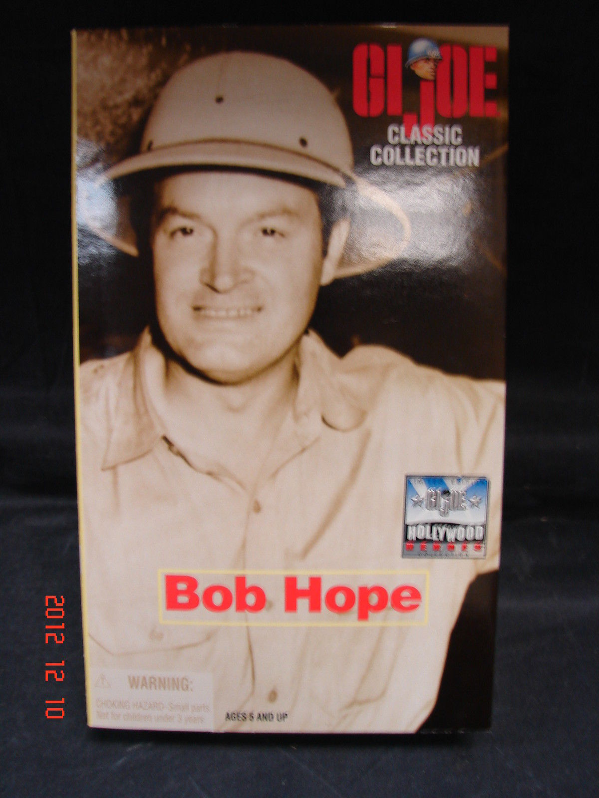 Primary image for GI JOE CLASSIC COLLECTION BOB HOPE FIGURE 1998 - HASBRO