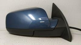 2016-2017 Gmc Terrain Passenger Right Side View Power Door Mirror Blue 82309 - $95.86