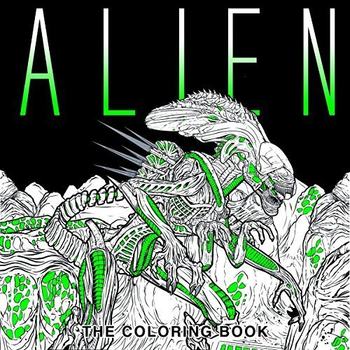 Primary image for Alien: The Coloring Book by Titan Books In Paperback FREE SHIPPING