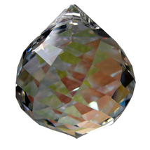 Swarovski Crystal Swirl Cut Ball Prism image 4