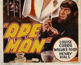 THE APE MAN, 1943 - $19.99
