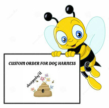 Custom order for dog harness. Choke free harness. Custom Walking harness... - $24.00+