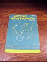 1965 Let's Go Hootenany! Magnus Organ Songbook, Sanford Hertz, Book 211 - $7.50