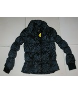Full Tilt Cheetah Print Puffer Jacket Size Large BNWT